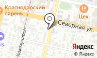 Почтовое отделение КРАСНОДАР 15 на карте