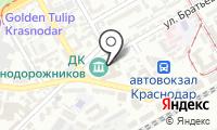 Почтовое отделение КРАСНОДАР 33 на карте