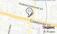 Почтовое отделение КРАСНОДАР 38 на карте