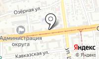 Почтовое отделение КРАСНОДАР 1 на карте