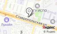 Почтовое отделение КРАСНОДАР 40 на карте