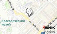 Почтовое отделение ТУАПСЕ на карте
