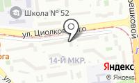 Почтовое отделение ЛИПЕЦК 54 на карте