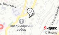 Почтовое отделение СОЧИ 73 на карте