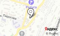 Почтовое отделение СОЧИ 8 на карте