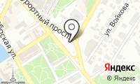 Почтовое отделение СОЧИ 210 на карте