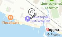 Почтовое отделение СОЧИ 19 на карте