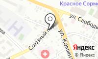 Почтовое отделение НИЖНИЙ НОВГОРОД 40 на карте