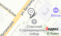 Приход Собора в честь Нерукотворного Образа Спасителя на карте