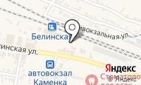Почтовое отделение КАМЕНКА 1 на карте