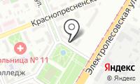 Почтовое отделение ВОЛГОГРАД 11 на карте