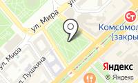 Почтовое отделение ВОЛГОГРАД 8 на карте
