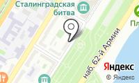 Почтовое отделение ВОЛГОГРАД 53 на карте