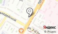 Почтовое отделение ВОЛГОГРАД 5 на карте