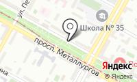 Почтовое отделение ВОЛГОГРАД 7 на карте