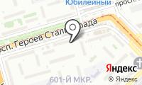 Почтовое отделение ВОЛГОГРАД 55 на карте
