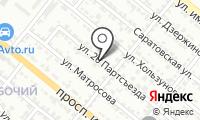Почтовое отделение ВОЛЖСКИЙ 6 на карте