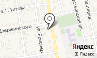 Почтовое отделение ЧЕРНЫЙ ЯР 1 на карте
