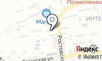 Почтовое отделение АСТРАХАНЬ 17 на карте
