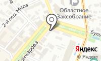 Почтовое отделение УЛЬЯНОВСК 11 на карте