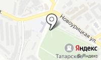 Татарское кладбище на карте