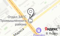 Почтовое отделение САМАРА 16 на карте