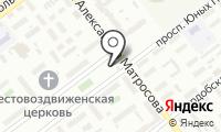 Автостоянка на проспекте Юных Пионеров на карте