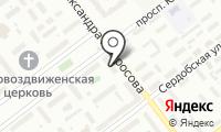 Форте-Л на карте