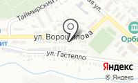 Почтовое отделение ОРЕНБУРГ 28 на карте