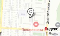 Почтовое отделение ОРЕНБУРГ 34 на карте