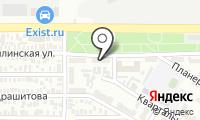 Почтовое отделение ОРЕНБУРГ 5 на карте