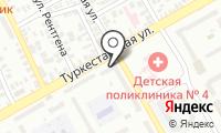 Почтовое отделение ОРЕНБУРГ 1 на карте