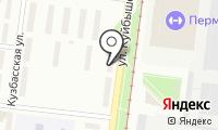 Почтовое отделение ПЕРМЬ 33 на карте