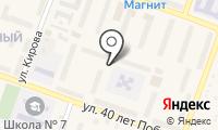 Почтовое отделение АША на карте