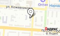 Почтовое отделение КОПЕЙСК 4 на карте