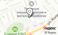 Почтовое отделение КУРГАН 3 на карте