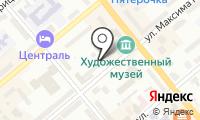 Почтовое отделение КУРГАН 18 на карте