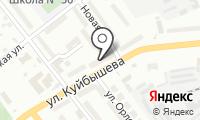 Почтовое отделение КУРГАН 6 на карте