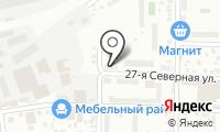 Почтовое отделение ОМСК 34 на карте