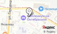 Почтовое отделение ОМСК 7 на карте