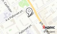 Почтовое отделение ОМСК 41 на карте