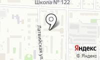 Почтовое отделение ОМСК 30 на карте