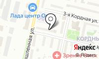 Почтовое отделение ОМСК 18 на карте