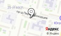 Почтовое отделение СУРГУТ 5 на карте