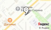 Почтовое отделение ОМСК 59 на карте