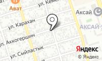 Манзура на карте
