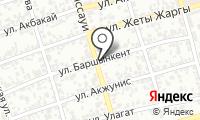 Жулдыз на карте