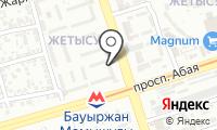 Базаргуль на карте