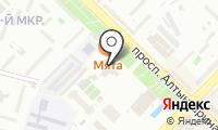 Аппарат акима Ауэзовского района на карте