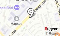 Управление государственного санитарно-эпидемиологического надзора по Ауэзовскому району на карте